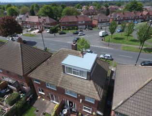 Flat Roof in Solihull